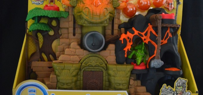 Fisher Price Imaginext Dino Fortress Review