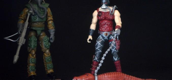 Hasbro G.I. Joe 50th Anniversary Blowtorch vs. Python Patrol Croc Master 2-Pack Review