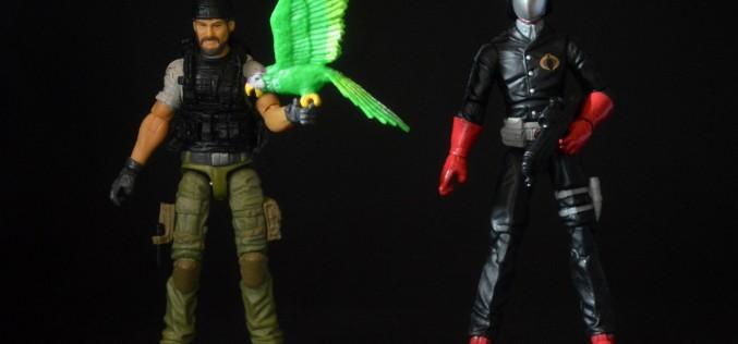 Hasbro G.I. Joe 50th Anniversary Shipwreck vs. Cobra Commander 2-Pack Review