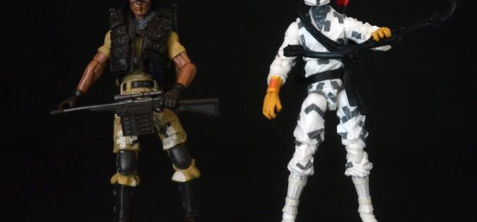 Hasbro G.I. Joe 50th Anniversary Spirit Iron-Knife Vs. Storm Shadow 2-Pack Review