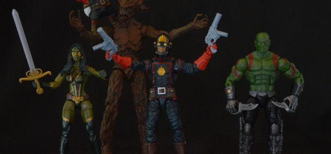Hasbro Marvel Legends Guardians Of The Galaxy Entertainment Earth Exclusive Box Set Review