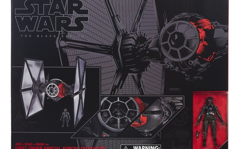 Hasbro Star Wars TBS 6″ Special Forces First Order TIE Fighter $65 On Wal-Mart