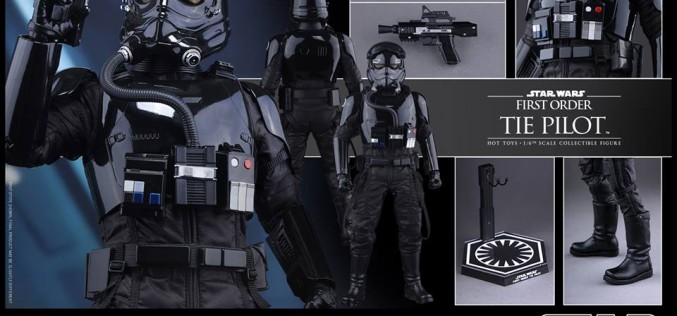 Hot Toys Star Wars The Force Awakens TIE Fighter Pilot Sixth Scale Figure Pre-Orders Go Live