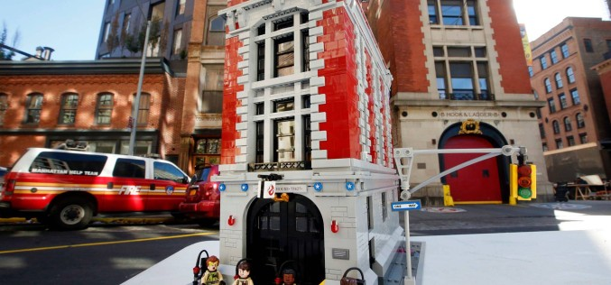 LEGO Officially Announces The Release Of The Ghostbusters Firehouse Set