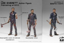 Skybound NYCC 2015 Exclusive The Walking Dead Lee Everett Figure