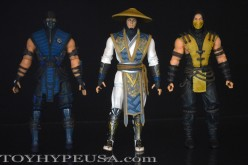 Mezco Mortal Kombat X Wave 1 Raiden, Scorpion, & Sub-Zero Review