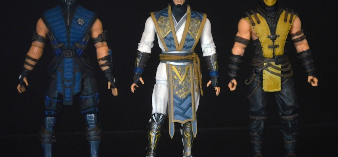 Mezco Mortal Kombat X Wave 1 Raiden, Scorpion, & Sub-Zero Review