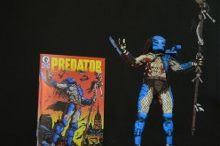 NECA Predator 25th Anniversary Dark Horse Comic Book Predator Review