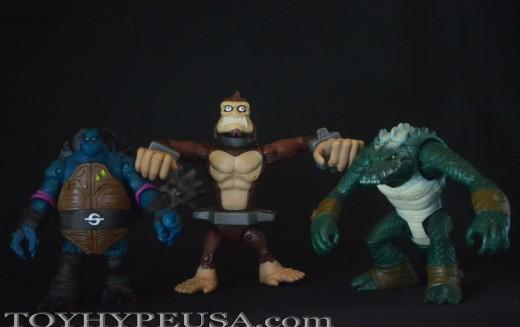Nickelodeon Teenage Mutant Ninja Turtles Monkey Brains Figure Review