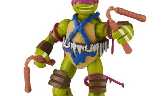 Playmates Toys TMNT Savage Michelangelo & Casey's Slamboni with Casey Jones In Stock At Amazon