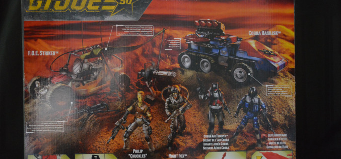 SDCC 2015 Exclusive Hasbro G.I. Joe Desert Duel Box Set Review