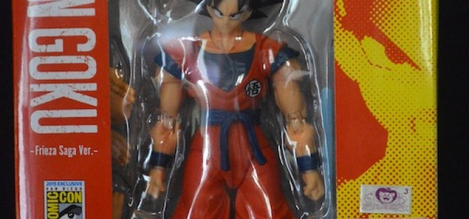 SDCC 2015 Exclusive S.H. Figuarts Dragonball Z Son Goku Review
