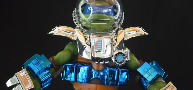 SDCC 2015 Exclusive Teenage Mutant Ninja Turtles Metal Mutants 11-Inch Leonardo Review