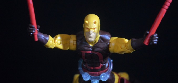 Walgreens Exclusive Hasbro Marvel Legends Infinite Series Daredevil Review