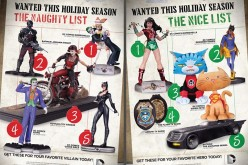 DC Collectibles – Naught Or Nice Holiday Gift List Revealed