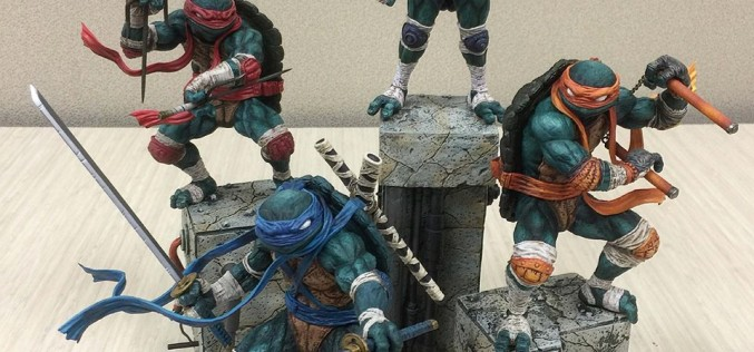 Entertainment Earth News: Good Smile Company Teenage Mutant Ninja Turtles Statues In Stock Now