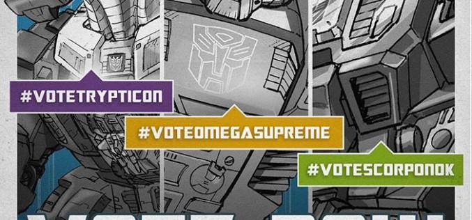 Hasbro Opens Transformers Generations Titans Return Fan Poll – Trypticon, Omega Supreme, & Scorponok