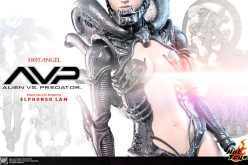 Hot Toys Previews Alien Vs. Predator Hot Angel Figure