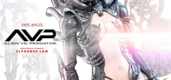 Hot Toys Previews Alien Vs. Predator Hot Angel Figure