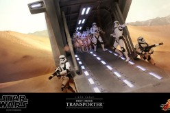 Hot Toys Previews Star Wars First Order Transporter Sixth Scale Vehicle