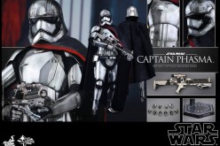 Hot Toys Star Wars The Force Awakens Captain Phasma Sixth Scale Figure Details & Pre-Order