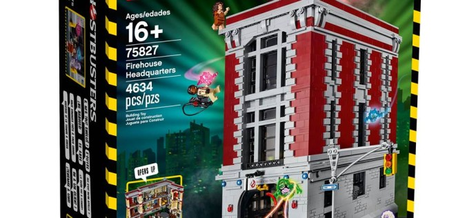 LEGO Shop Ghostbusters Firehouse 75827 Headquarters Set Back In Stock