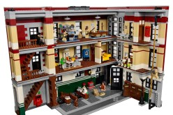 LEGO Ghostbusters Firehouse 75827 Headquarters Set Interior Images
