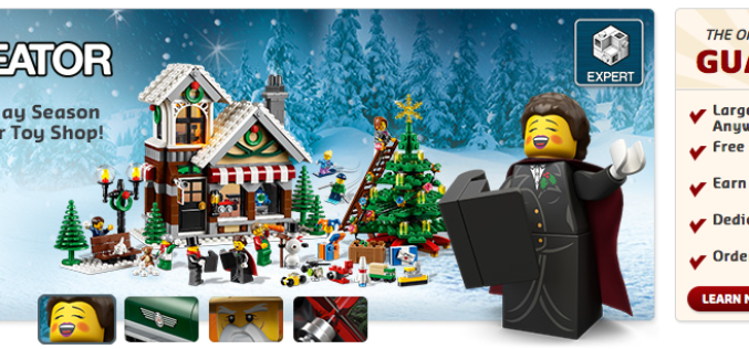 LEGO Shop VIP And Black Friday Offers