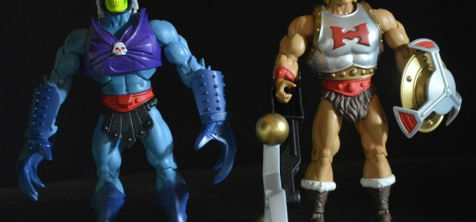 Masters Of The Universe Classics Flying Fists He-Man Vs. Terror Claws Skeletor Review