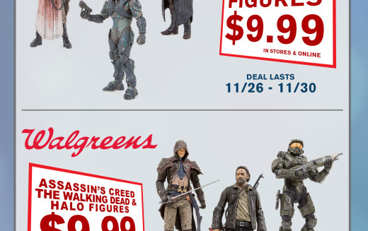McFarlane Toys Announces Retailers Black Friday & Cyber Monday Toy Deals