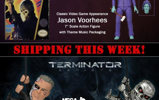 NECA Shipping This Week – Friday The 13th Video Game Jason, & Terminator Genisys Scalers