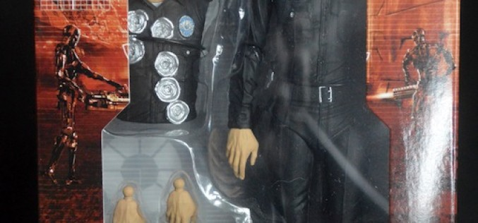 NECA Terminator Genisys T-1000 Police Disguise Review