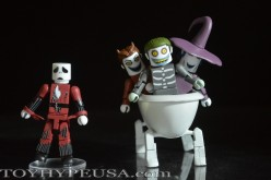 NYCC 2015 Exclusive The Nightmare Before Christmas Minimates Deluxe Box Set Review