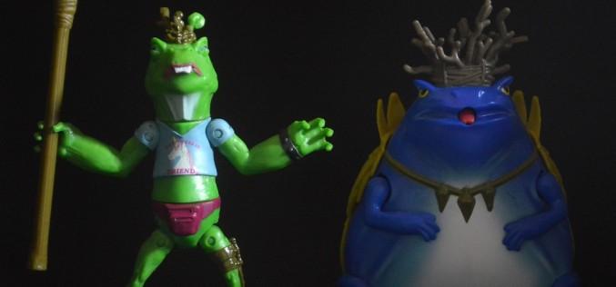Nickelodeon Teenage Mutant Ninja Turtles Napoleon Bonafrog & Atilla The Frog Review