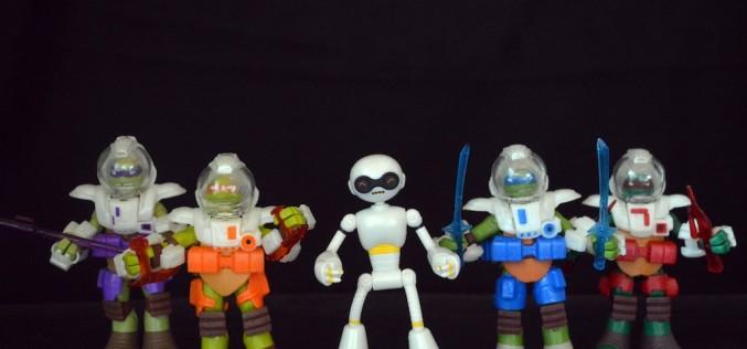 Playmates Toys TMNT Fugitoid & Dimension X Turtles Review