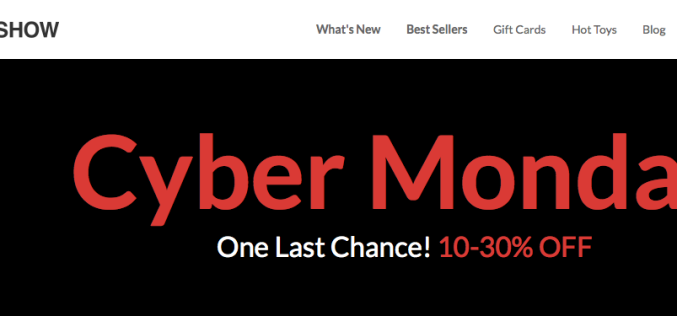 Sideshow Collectibles Launches Cyber Monday Sale – 10-30% Off