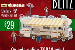 The Walking Dead Dale's RV Construction Set Black Friday Sale Event At Wal-Mart Today