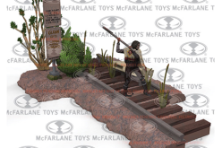 McFarlane Toys TWD Road To Terminus & Jersey Barrier Construction Sets Pre-Orders