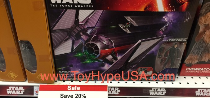 """Toys """"R"""" Us Stores Offers 20% Off Star Wars The Force Awakens Toys"""