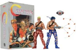 NECA Announces Contra 7″ Scale Bill & Lance 2 Pack Figures