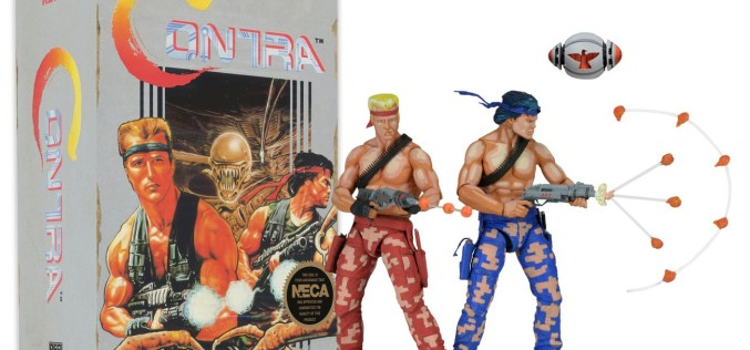 NECA Toys Shipping This Week: Contra, Uncharted 4, Scalers, Head & Body Knockers