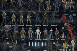 NECA Alien 7″ Scale Action Figure Line Visual Guide Available For Download