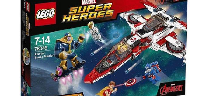 LEGO Star Wars & Marvel Super Hero Official 2016 Set Images