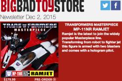 BBTS News: Transformers Masterpiece, Judge Dredd, AvP, Star Wars, Harry Potter, Rocky & More