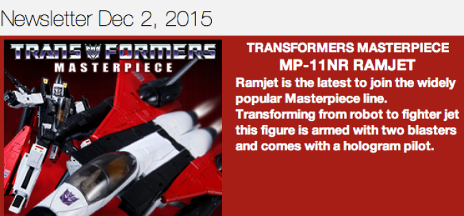 BBTS News: Transformers Masterpiece, Judge Dredd, AvP, Star Wars, Harry Potter, Rocky & More