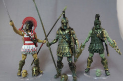Boss Fight Studio's Vitruvian H.A.C.K.S. Paint Master Samples Of Athenian, Eurayle's Disciple, & Talos