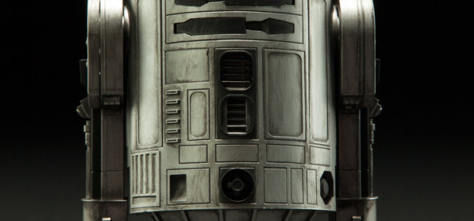 Sideshow Announces  Star Wars Convention Exclusive R2D2 Prototype Sixth Scale Figure