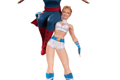 DC Collectibles Bombshells Power Girl And Superman Statue