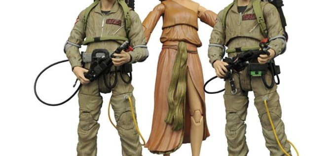 New Ghostbusters Figures Hit Stores, New Pre-Orders Begin