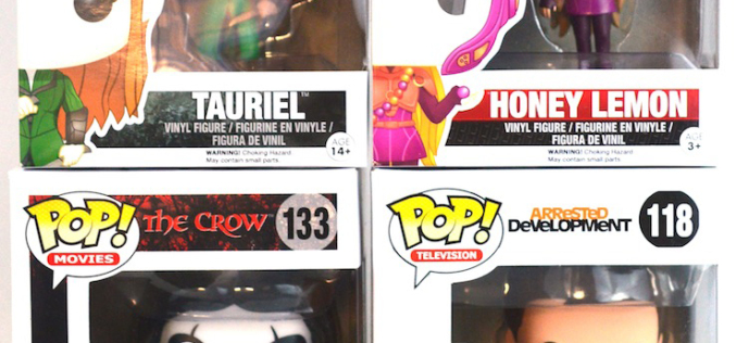 Exclusive GIVEAWAY Contest – Funko Pop! Tauriel, Honey Lemon, The Crow, & Michael Bluth
